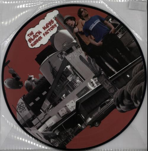 The Black Keys Rubber Factory picture disc LP (vinyl picture disc album) UK TLKPDRU599693