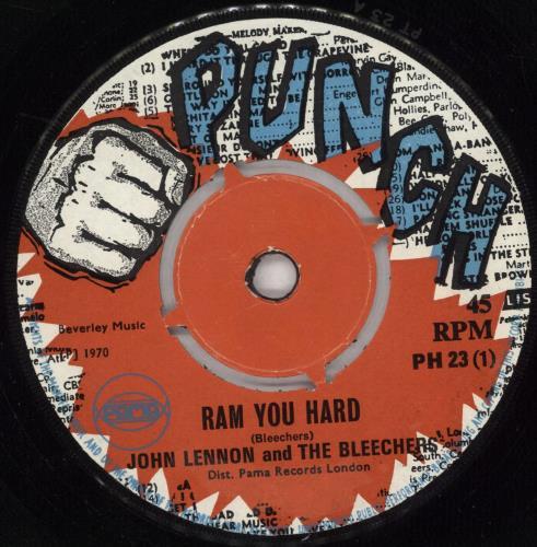 "The Bleechers Ram You Hard 7"" vinyl single (7 inch record) UK WMP07RA726858"