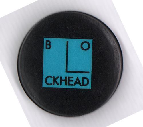 The Blockheads Blockhead Button Badge badge UK T6EBGBL666289