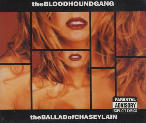 The Bloodhound Gang The Ballad Of Chasey Lain 2-CD single set (Double CD single) UK LUG2STH163761