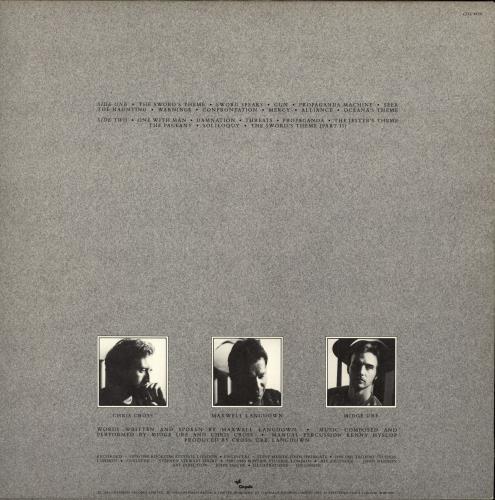 The Bloodied Sword The Bloodied Sword - EX vinyl LP album (LP record) UK TBWLPTH698993