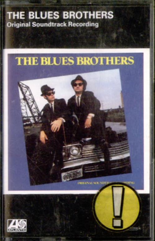 The Blues Brothers The Blues Brothers cassette album German BLUCLTH525503