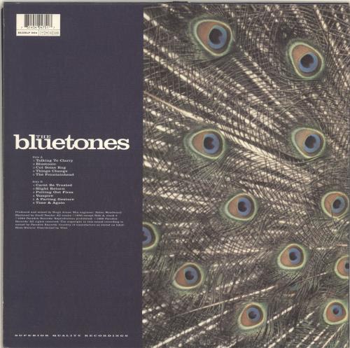 The Bluetones Expecting To Fly vinyl LP album (LP record) UK BTOLPEX329647