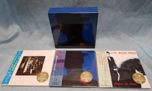 The Blue Nile Deluxe Edition Paper Sleeve Collection - 3 albums & box digital audio tape DAT / Digital compact casette Japanese NILDCDE715042