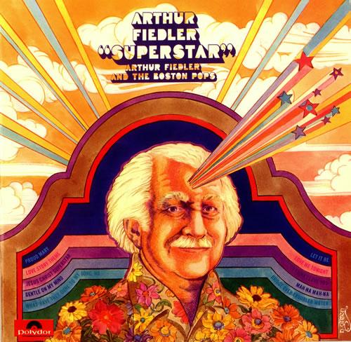 The Boston Pops Orchestra Superstar vinyl LP album (LP record) UK BP0LPSU486645