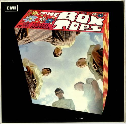 The Box Tops The Letter Neon Rainbow UK Promo vinyl LP album LP