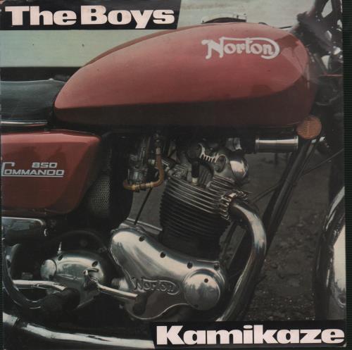 "The Boys (Punk) Kamikaze 7"" vinyl single (7 inch record) UK THB07KA669932"