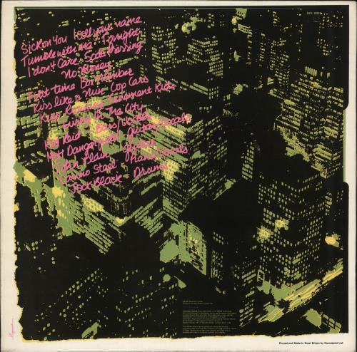 The Boys (Punk) The Boys vinyl LP album (LP record) UK THBLPTH707532