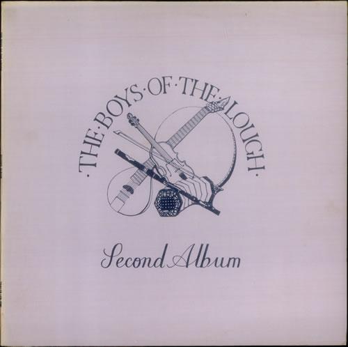 The Boys Of The Lough Second Album vinyl LP album (LP record) UK OTLLPSE475905
