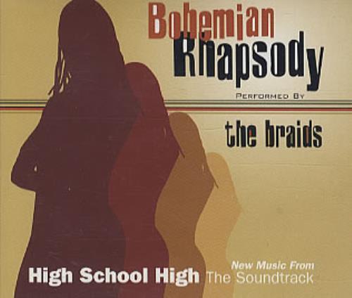 "The Braids Bohemian Rhapsody CD single (CD5 / 5"") German BIDC5BO211648"