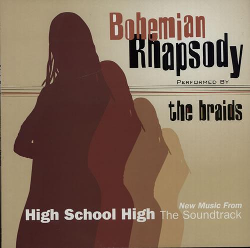 "The Braids Bohemian Rhapsody 12"" vinyl single (12 inch record / Maxi-single) German BID12BO273759"