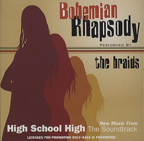 "The Braids Bohemian Rhapsody CD single (CD5 / 5"") US BIDC5BO78917"