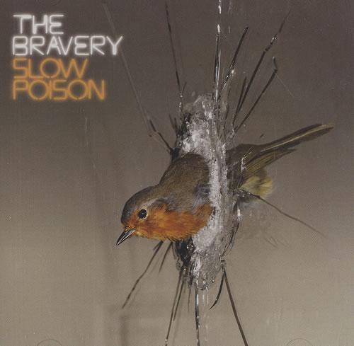 "The Bravery Slow Poison CD single (CD5 / 5"") US TJ2C5SL493760"
