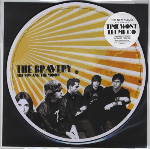 The Bravery The Sun And The Moon Us Picture Disc Lp Vinyl