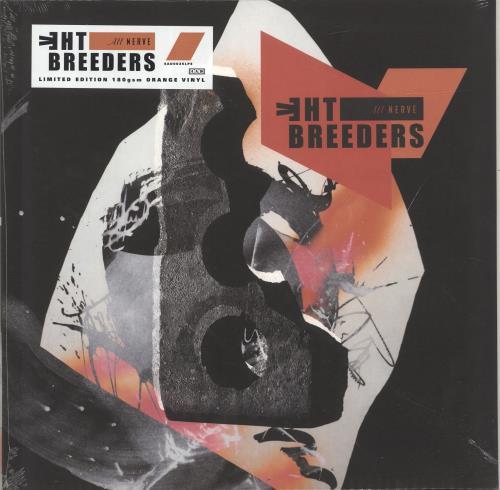 The Breeders All Nerve - Orange Vinyl + Sealed vinyl LP album (LP record) UK BDELPAL691800