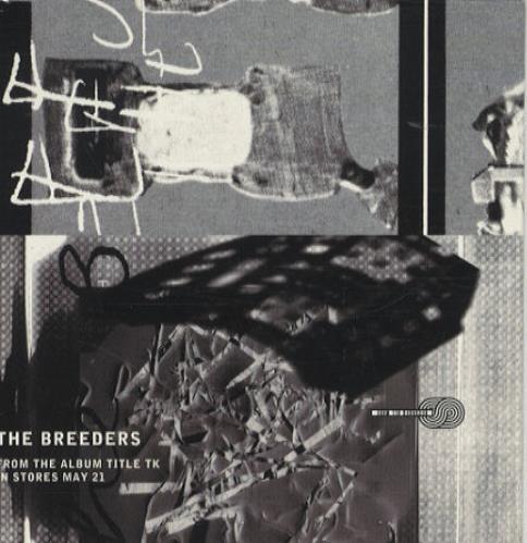 """The Breeders Title TK Sampler CD single (CD5 / 5"""") US BDEC5TI443371"""