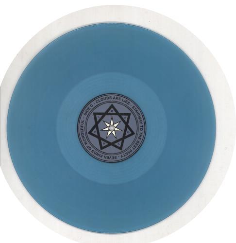 The Brian Jonestown Massacre Aufheben - 180gm Blue Vinyl 2-LP vinyl record set (Double Album) UK BJW2LAU734718