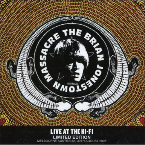 The Brian Jonestown Massacre Live At The Hi-Fi Australian CD album