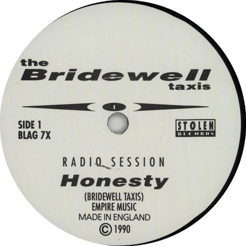 "The Bridewell Taxis Honesty (Radio Session) 7"" vinyl single (7 inch record) UK BWX07HO649745"