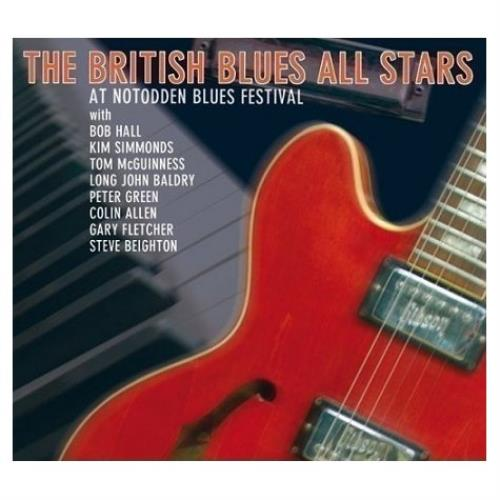 The British Blues All Stars At Notodden Blues Festival CD album (CDLP) German BPUCDAT414113