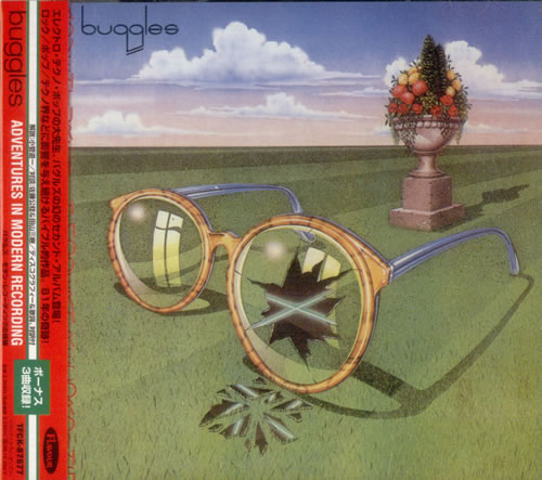 The Buggles Adventures In Modern Recording CD album (CDLP) Japanese BUGCDAD104253