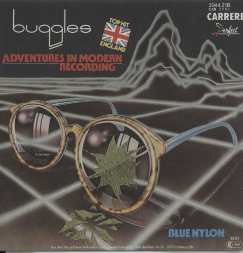 """The Buggles Adventures In Modern Recording 7"""" vinyl single (7 inch record) German BUG07AD108192"""