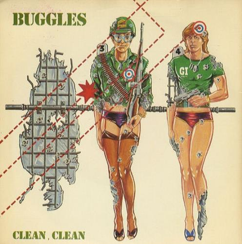 """The Buggles Clean Clean 7"""" vinyl single (7 inch record) UK BUG07CL54710"""