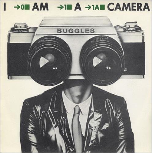 "The Buggles I Am A Camera 7"" vinyl single (7 inch record) Spanish BUG07IA171104"