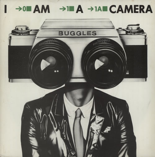 "The Buggles I Am A Camera 7"" vinyl single (7 inch record) UK BUG07IA86435"