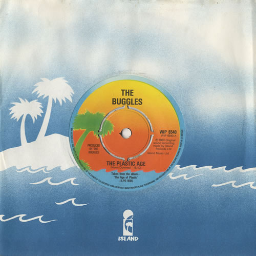 """The Buggles The Plastic Age 7"""" vinyl single (7 inch record) UK BUG07TH449750"""