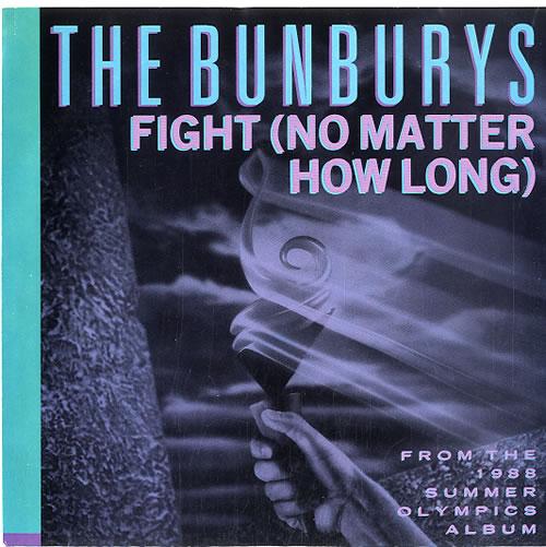 "The Bunburys Fight 7"" vinyl single (7 inch record) US BUN07FI83205"