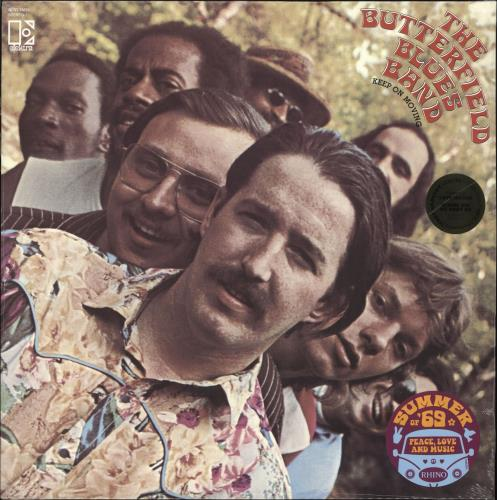 The Butterfield Blues Band Keep On Moving - 140gm Gold Vinyl - Sealed vinyl LP album (LP record) US B8BLPKE726981