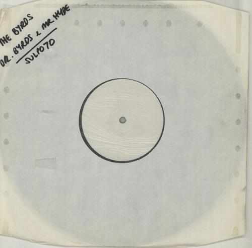The Byrds Dr Byrds & Mr Hyde - 180gm vinyl LP album (LP record) UK BYRLPDR153102