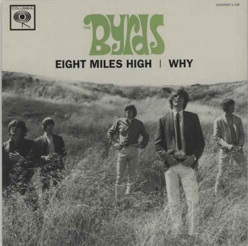 "The Byrds Eight Miles High - RSD BF11 7"" vinyl single (7 inch record) US BYR07EI683159"