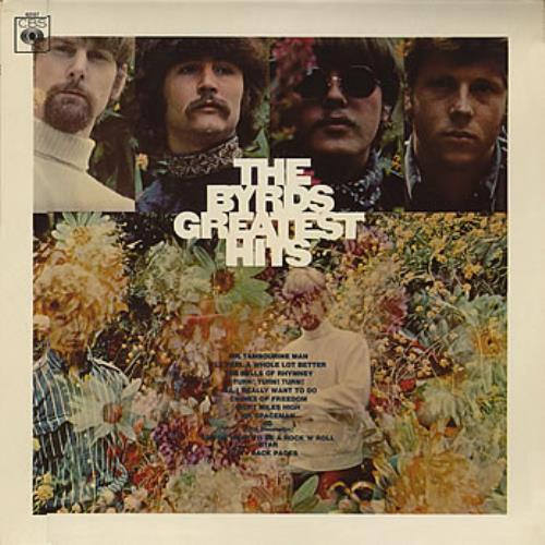 The Byrds Greatest Hits - 1st Mono vinyl LP album (LP record) UK BYRLPGR115652