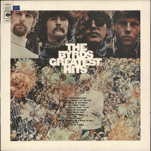 The Byrds Greatest Hits - 2nd Stereo vinyl LP album (LP record) UK BYRLPGR351091
