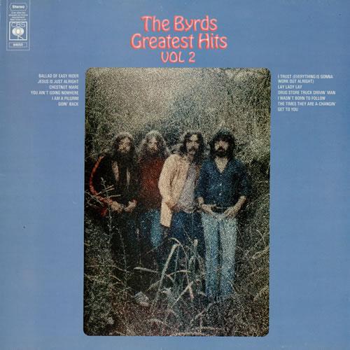The Byrds Greatest Hits Vol 2 Uk Vinyl Lp Album Lp Record