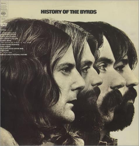 The Byrds History Of The Byrds - 1st 2-LP vinyl record set (Double Album) UK BYR2LHI183026