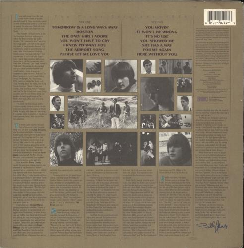 The Byrds In The Beginning vinyl LP album (LP record) US BYRLPIN215652