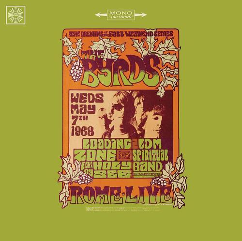 The Byrds Live In Rome 1968 - Sealed vinyl LP album (LP record) UK BYRLPLI767180