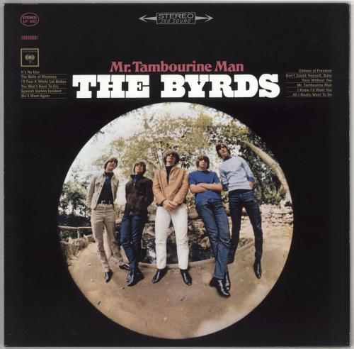 The Byrds Mr. Tambourine Man - 180gm vinyl LP album (LP record) US BYRLPMR243473