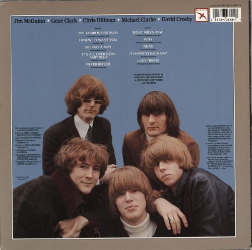 The Byrds Never Before - EX vinyl LP album (LP record) US BYRLPNE747897