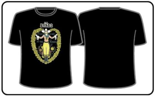 The Byrds Sweetheart Of The Rodeo T-Shirt - Medium t-shirt UK BYRTSSW349633
