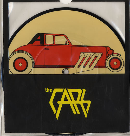 """The Cars My Best Friend's Girl 7"""" vinyl picture disc 7 inch picture disc single UK C-R7PMY121521"""