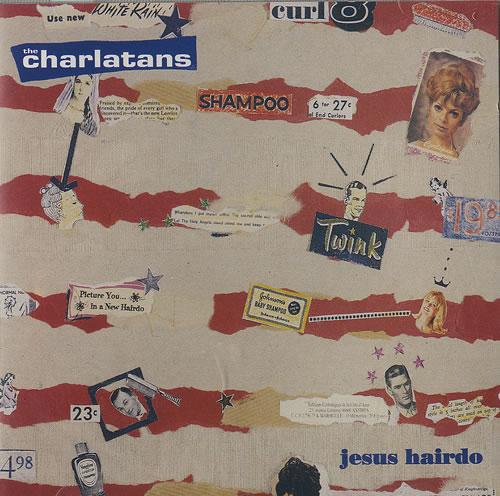 The Charlatans (UK) Jesus Hairdo 2-CD single set (Double CD single) UK CHA2SJE459634