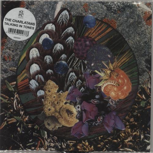 "The Charlatans (UK) Talking To Tones 7"" vinyl single (7 inch record) UK CHA07TA680616"