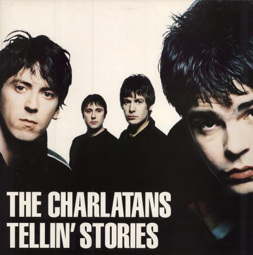 The Charlatans (UK) Tellin' Stories vinyl LP album (LP record) UK CHALPTE324196