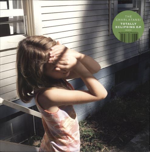 "The Charlatans (UK) Totally Eclipsing EP - Green Vinyl 12"" vinyl single (12 inch record / Maxi-single) UK CHA12TO749813"