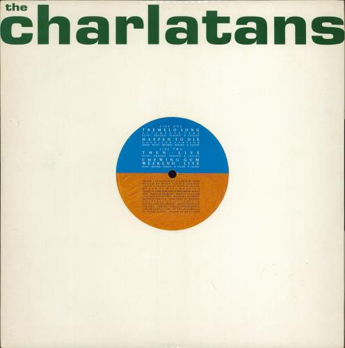 """The Charlatans (UK) Tremelo Song - Die-cut sleeve 12"""" vinyl single (12 inch record / Maxi-single) UK CHA12TR770179"""