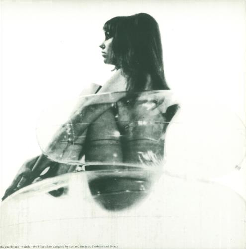 "The Charlatans (UK) Weirdo + Print - EX 12"" vinyl single (12 inch record / Maxi-single) UK CHA12WE749810"